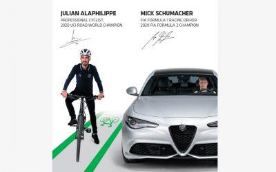 Mick Schumacher y Julian Alaphilippe se unen a la campaña mundial de seguridad vial # 3500LIVES